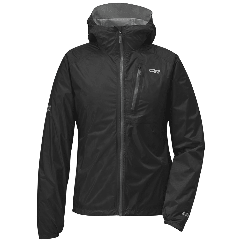 OUTDOOR RESEARCH Women's Helium II Jacket - 0189 BLACK/CHARCOAL