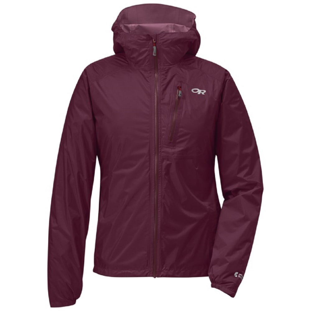 OUTDOOR RESEARCH Women's Helium II Jacket - 1295 GARNET