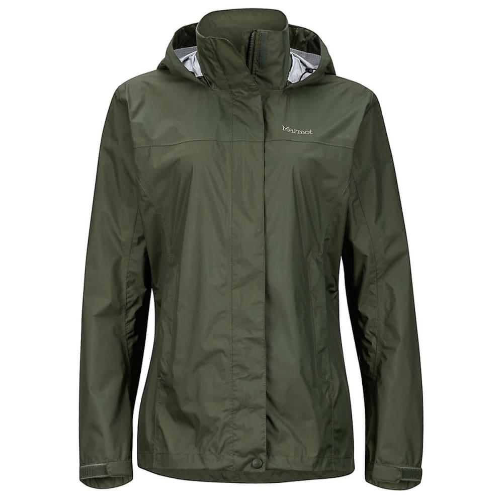 MARMOT Women's PreCip Jacket - 4022-BEETLE GREEN