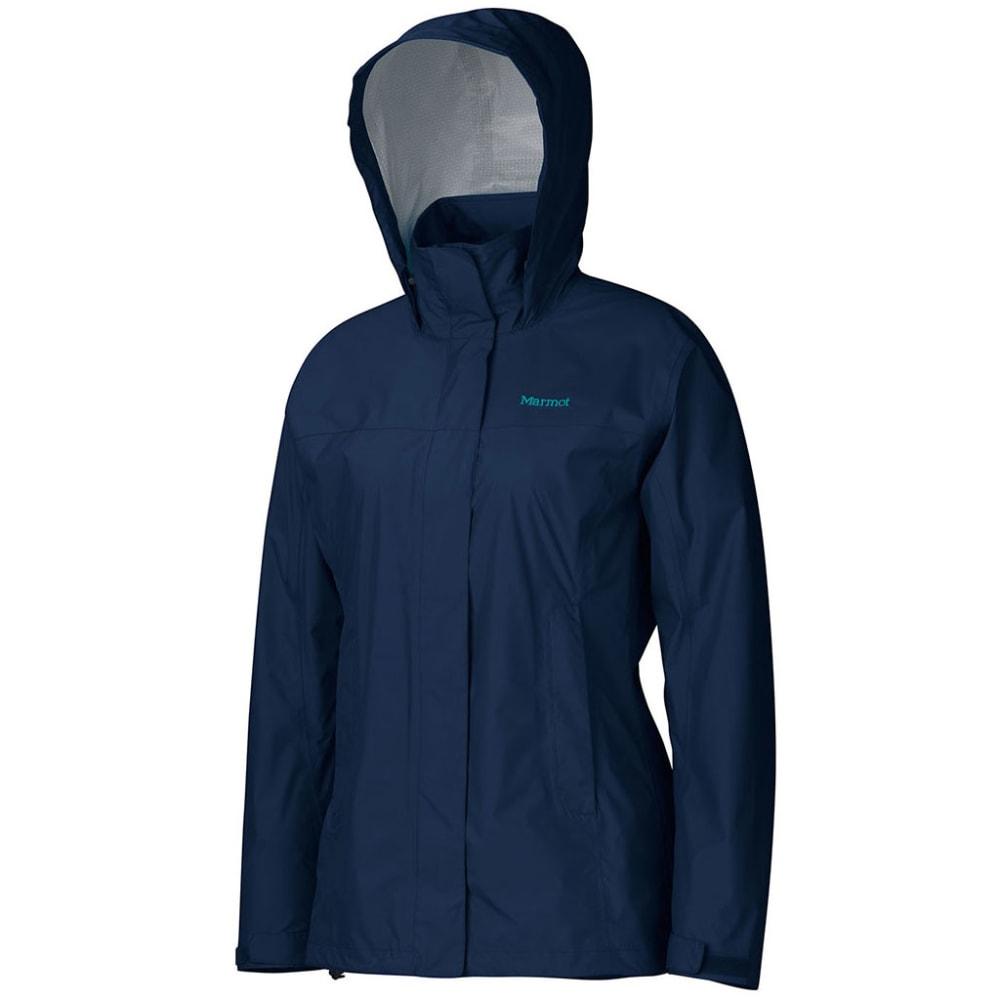 Marmot Women's PreCip Jacket - 2975-ARCTIC/NAVY