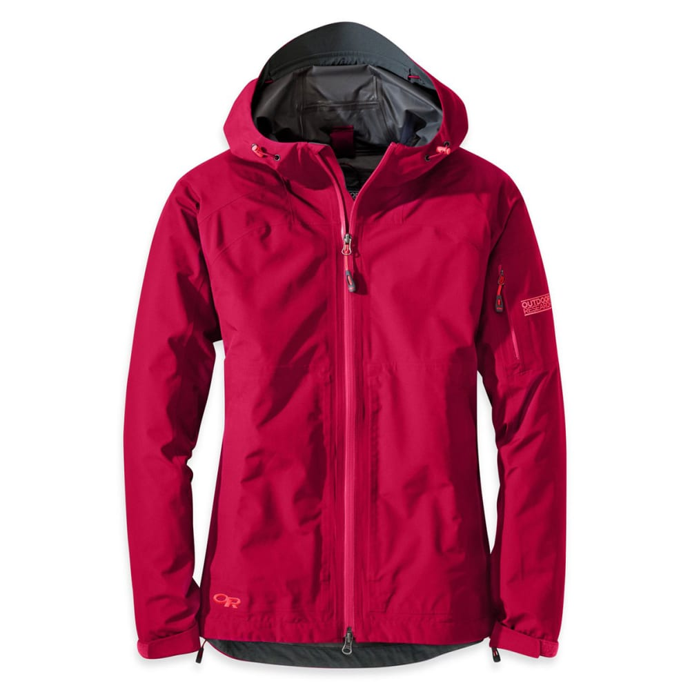 OUTDOOR RESEARCH Women's Aspire Jacket - SCARLET