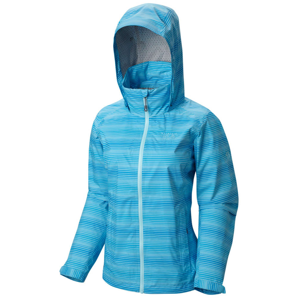 MOUNTAIN HARDWEAR Women's Plasmic Ion Printed Jacket - ATOLL