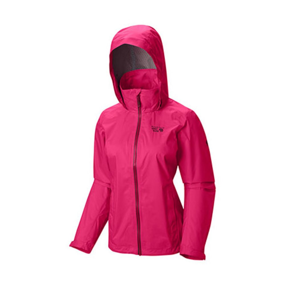 MOUNTAIN HARDWEAR Women's Plasmic Ion Jacket - BRIGHT ROSE