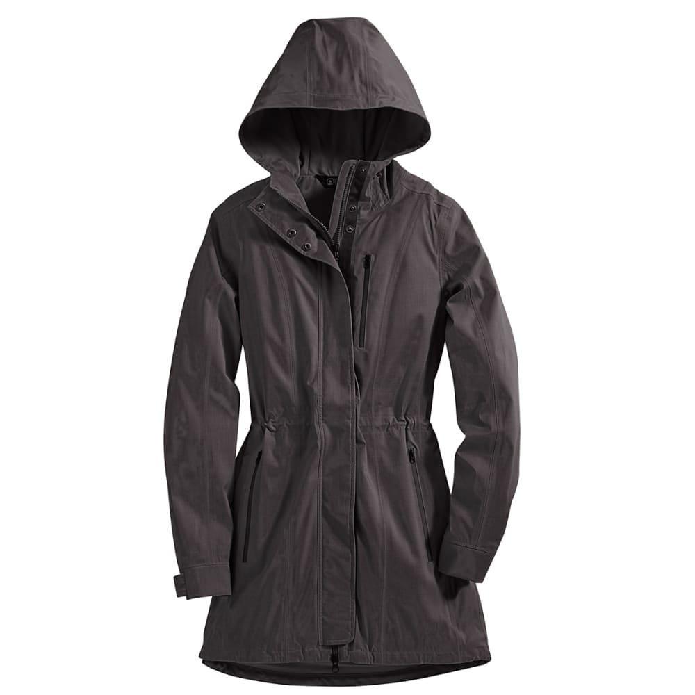 EMS® Women's Mist Rain Trench Coat - BLACK