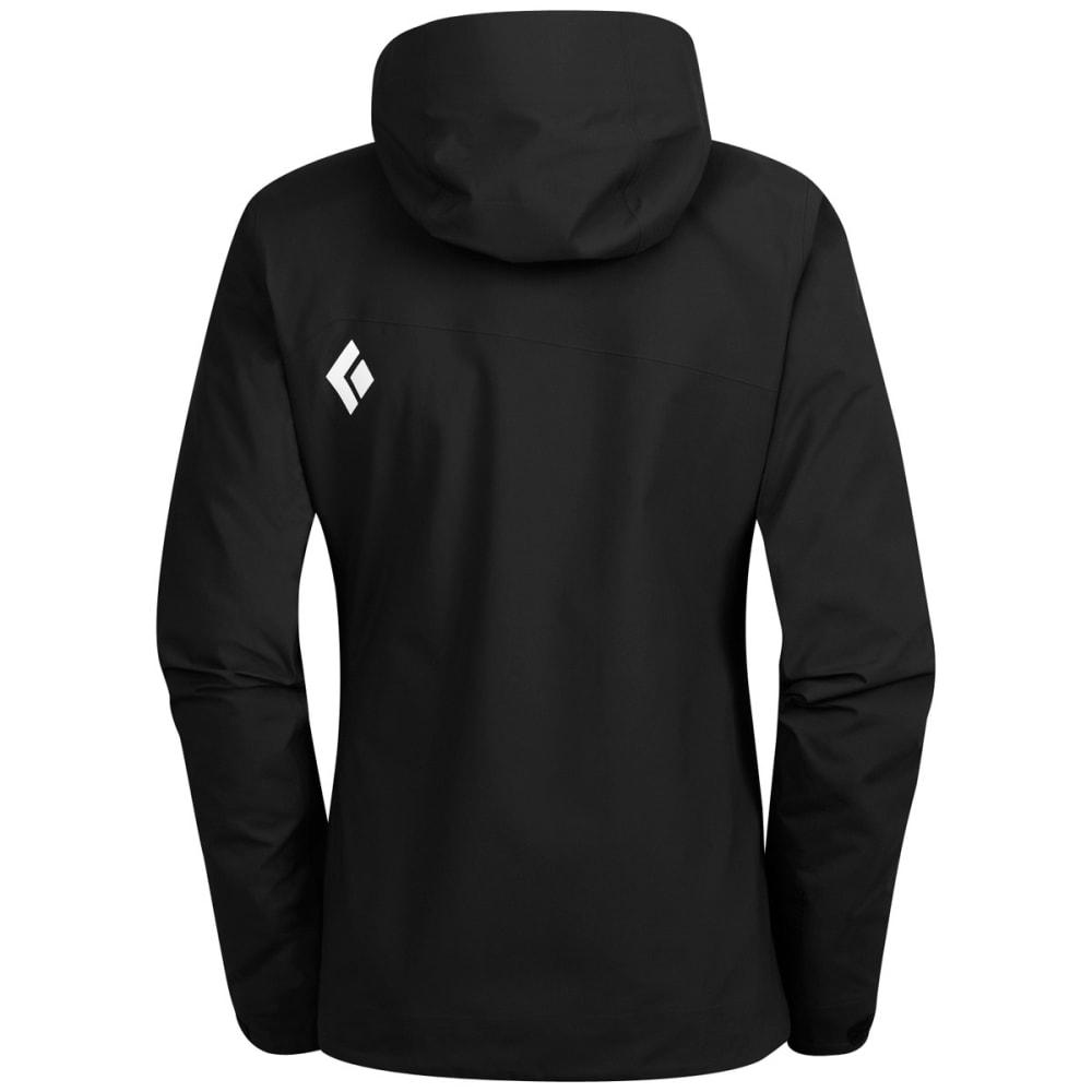 BLACK DIAMOND Women's Sharp End Shell Jacket - BLACK
