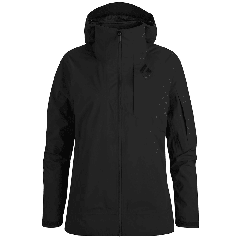 BLACK DIAMOND Women's Mission Ski Shell Jacket - SMOKE