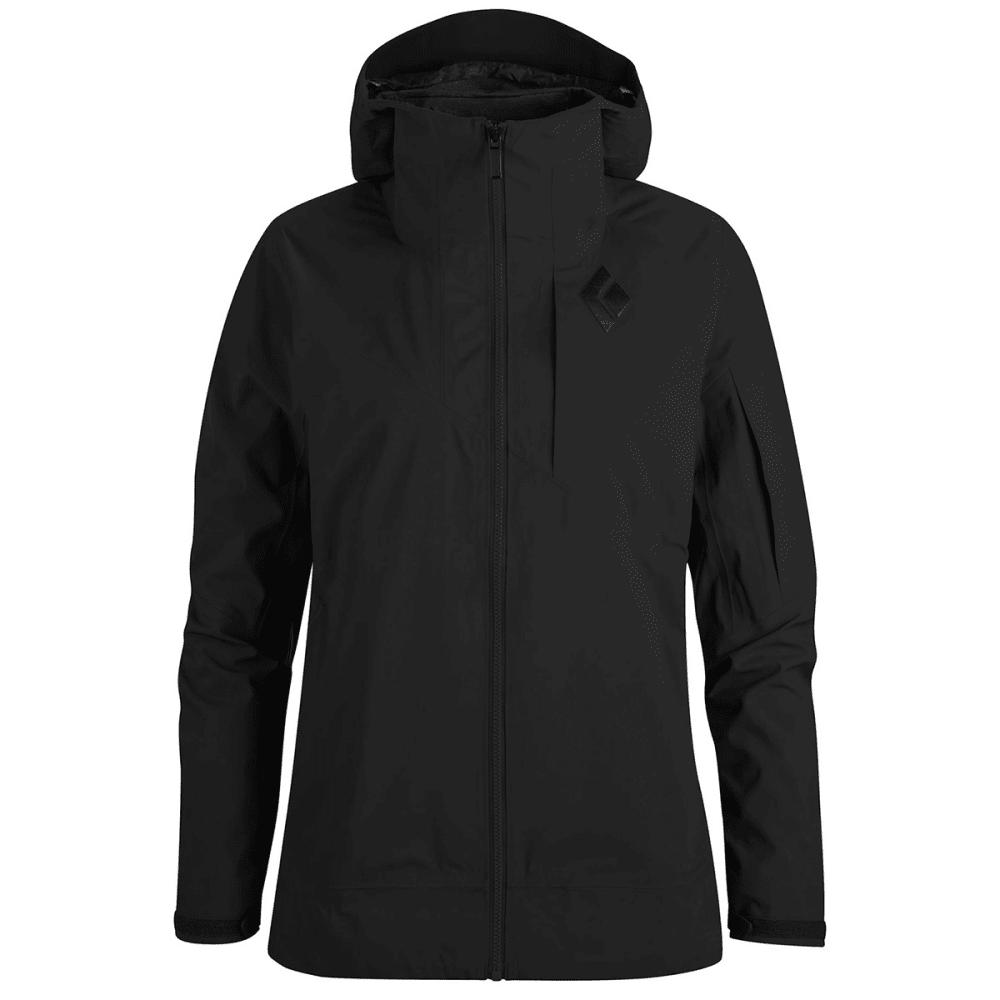 BLACK DIAMOND Women's Mission Ski Shell Jacket - SMOKE