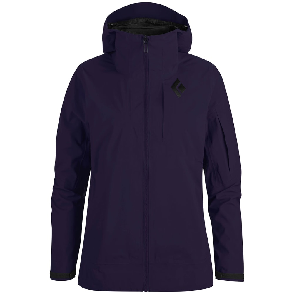 BLACK DIAMOND Women's Mission Ski Shell Jacket - NIGHTSHADE