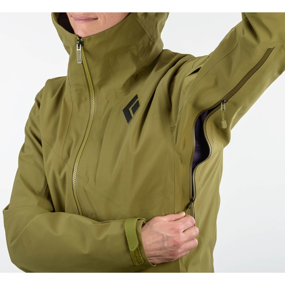 BLACK DIAMOND Women's Mission Ski Shell Jacket - SAGE