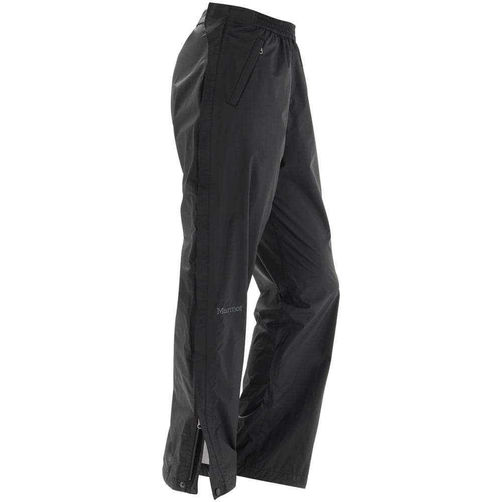 MARMOT Women's PreCip Full-Zip Pants - BLACK