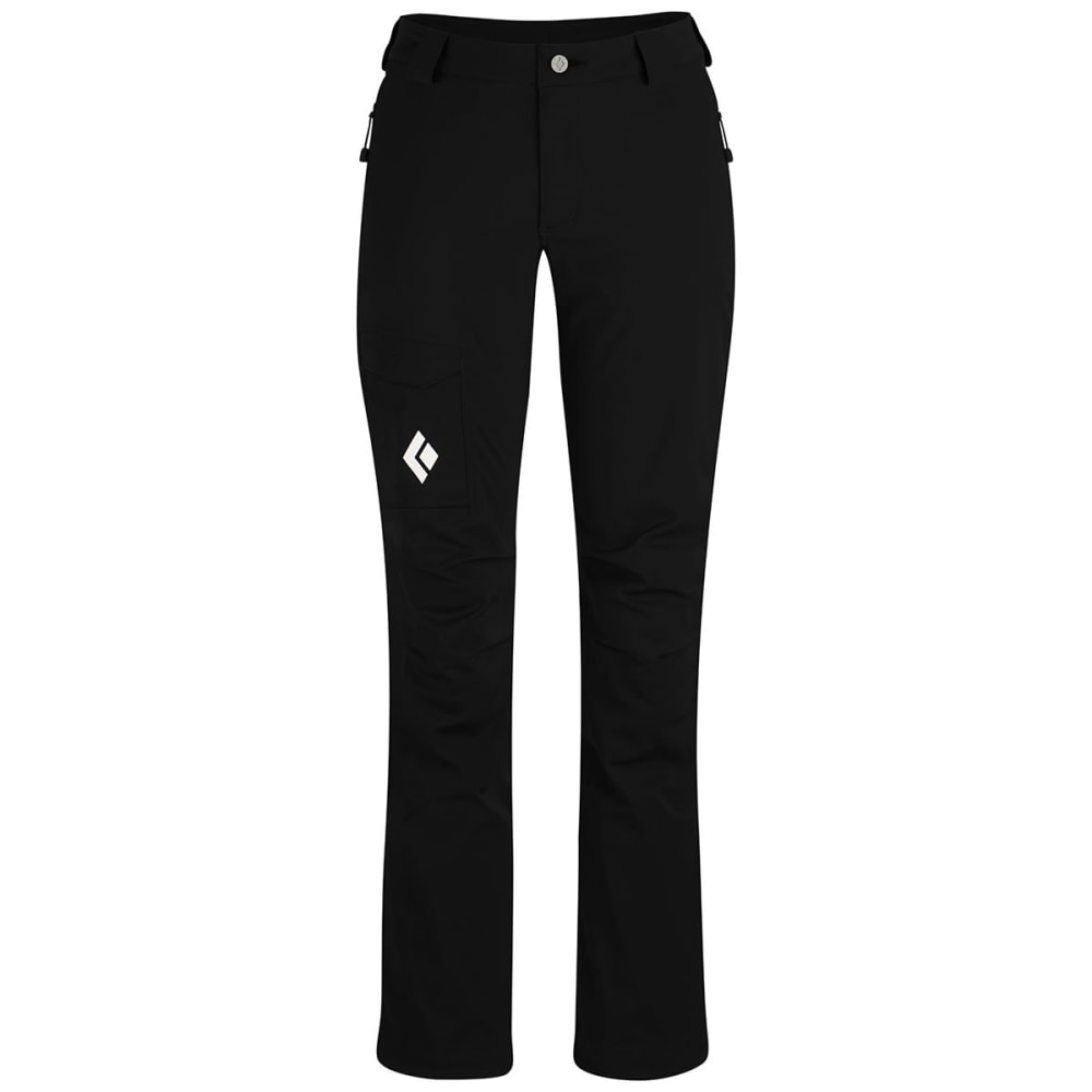 BLACK DIAMOND Women's Dawn Patrol LT Pants - BLACK