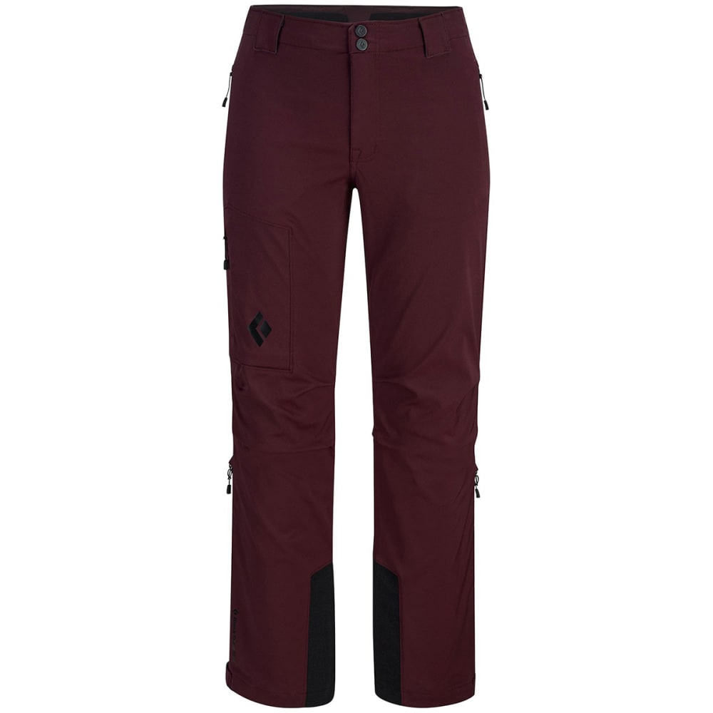 BLACK DIAMOND Women's Dawn Patrol LT Touring Pants - MERLOT