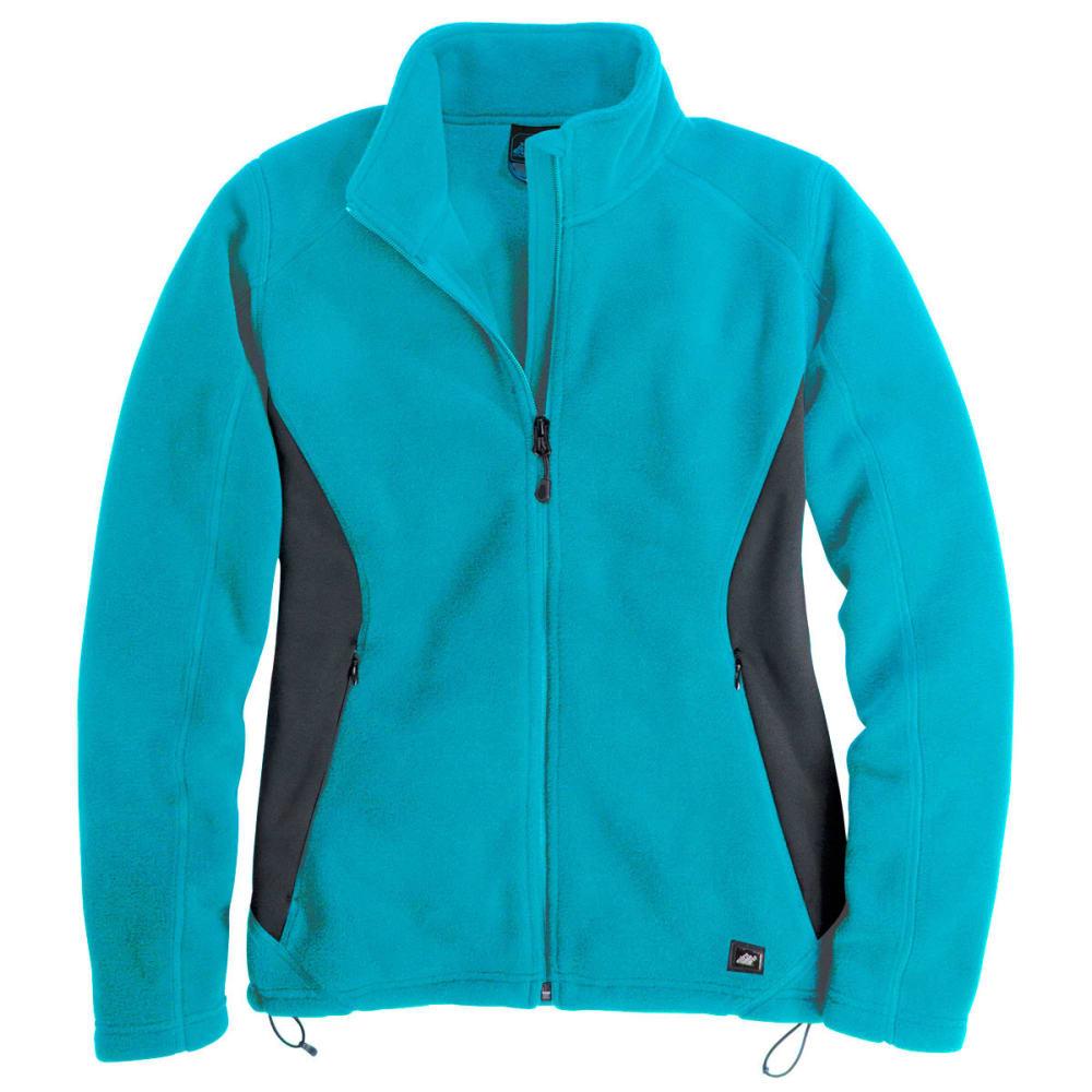 EMS® Women's Hyland Fleece Jacket - LAGOON BLUE/EBONY