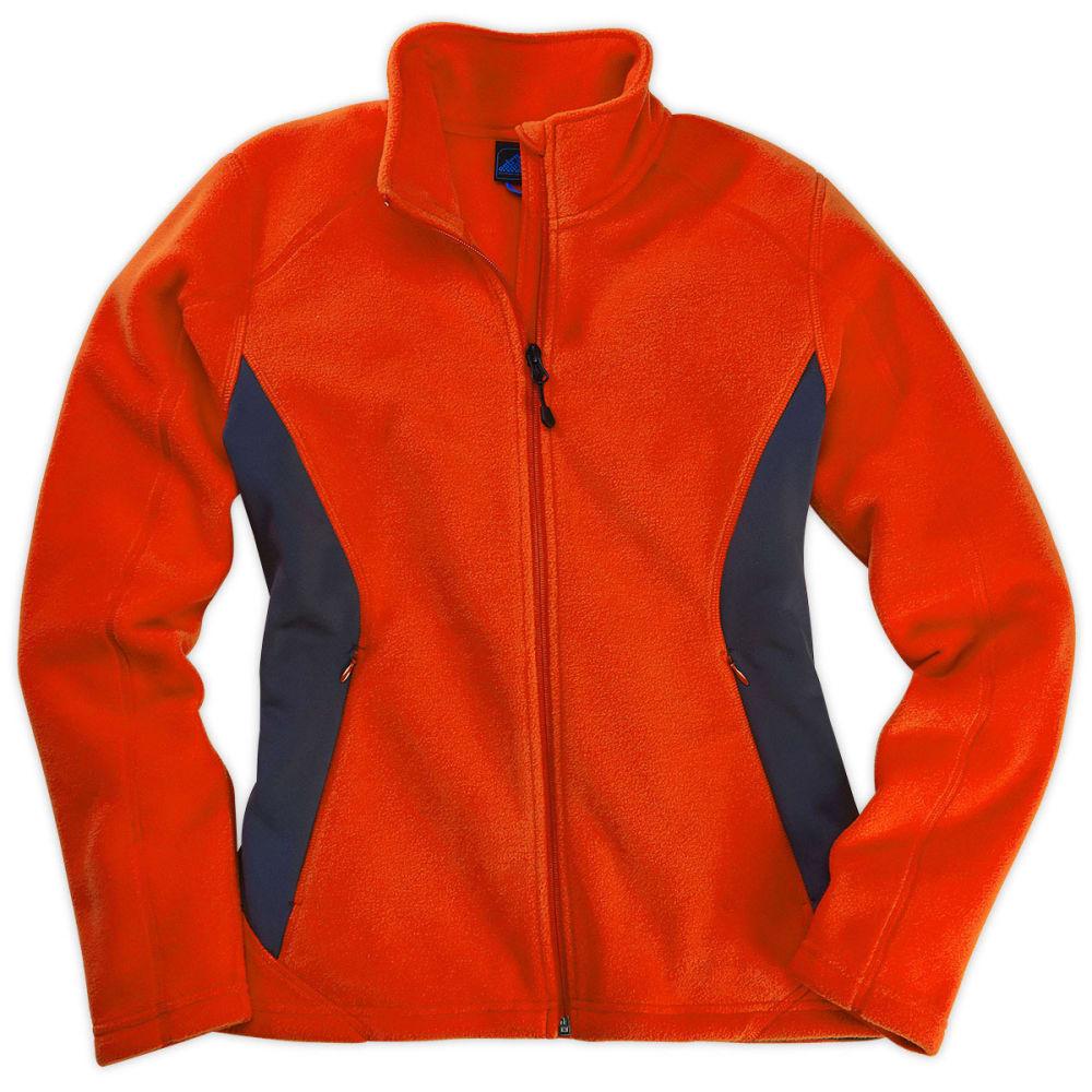 EMS® Women's Hyland Fleece Jacket - ORANGE.COM/EBONY