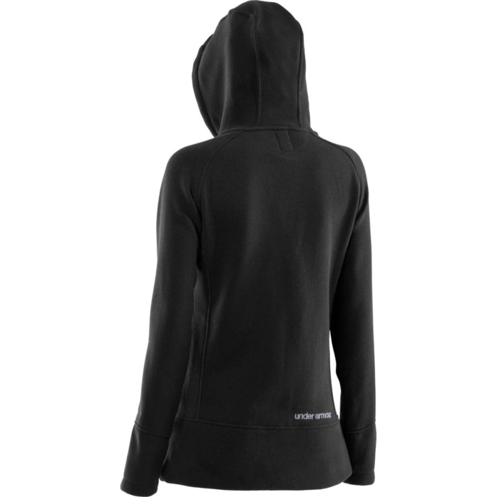 ... UNDER ARMOUR Women  39 s Wintersweet Full Zip Hoodie - BLACK ... 0e208f0ae
