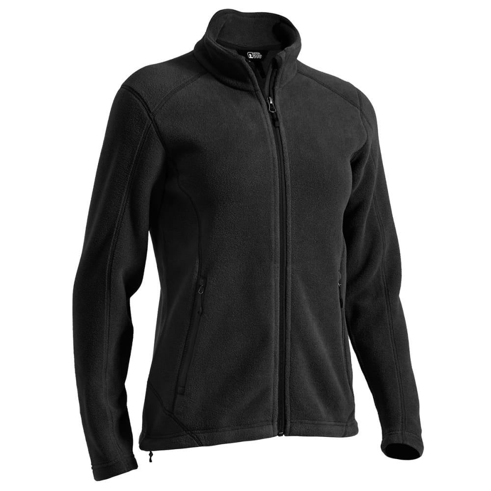 EMS® Women's Classic 200 Fleece Jacket - JET BLACK
