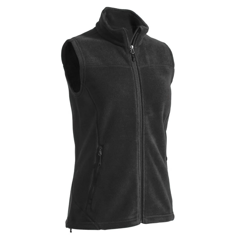 EMS® Women's Classic 200 Fleece Vest - JET BLACK