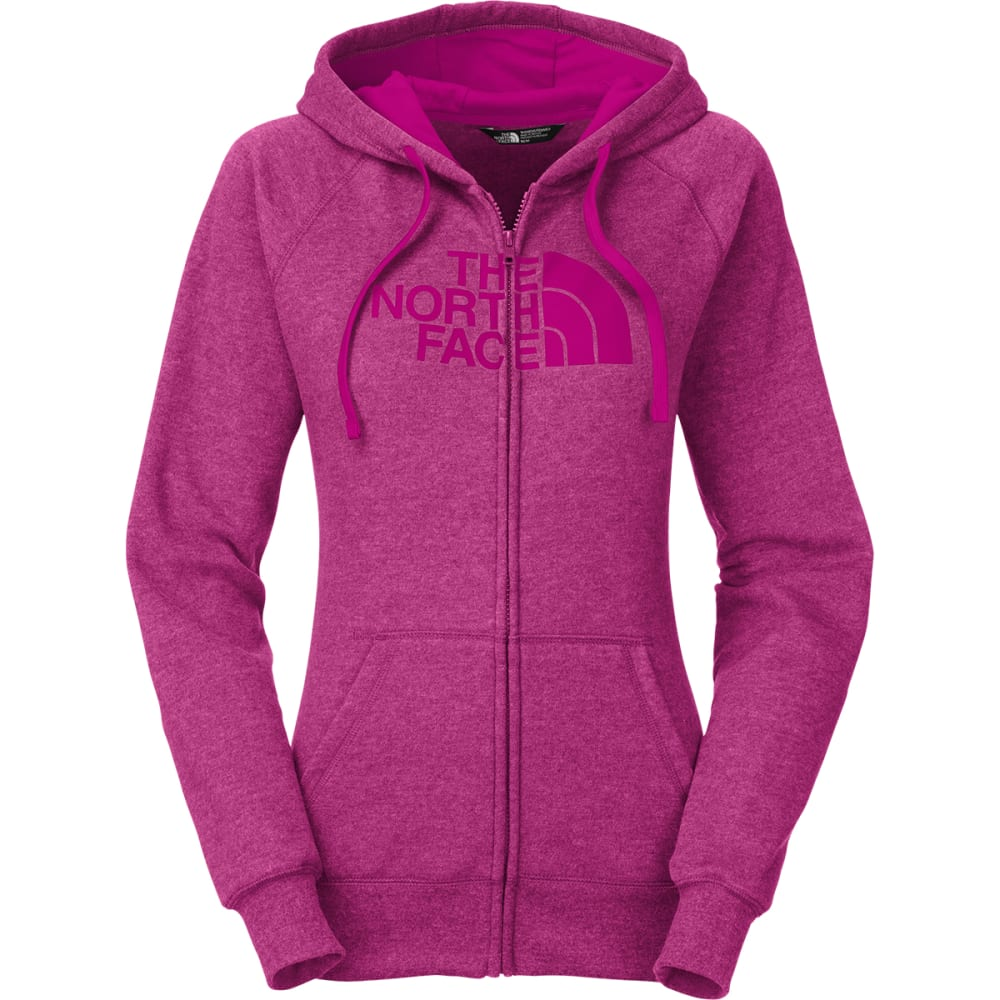 THE NORTH FACE Women's Half Dome Full-Zip Hoodie - DRAMATIC PLUM