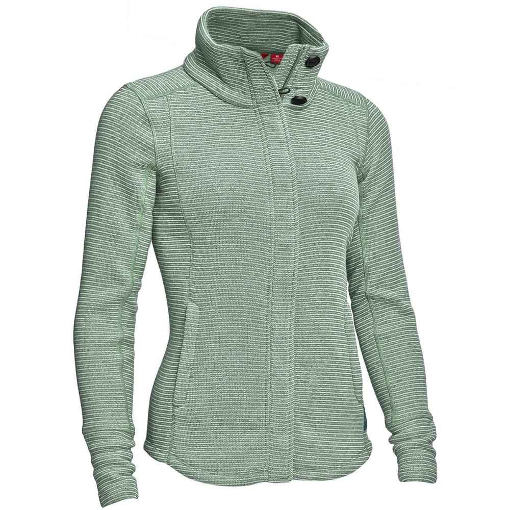 EMS® Women's Emma Full-Zip Sweater Jacket  - SCARAB HEATHER