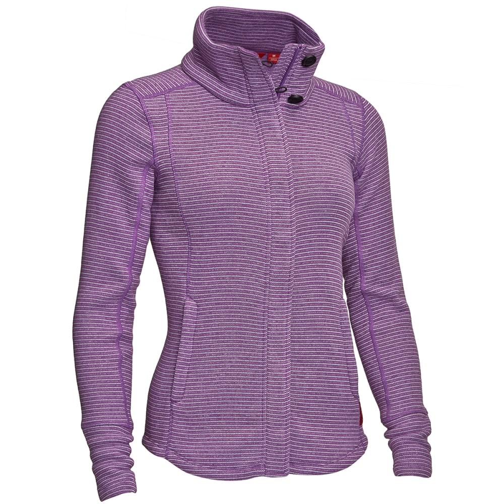 EMS® Women's Emma Full-Zip Sweater Jacket  - DAHLIA