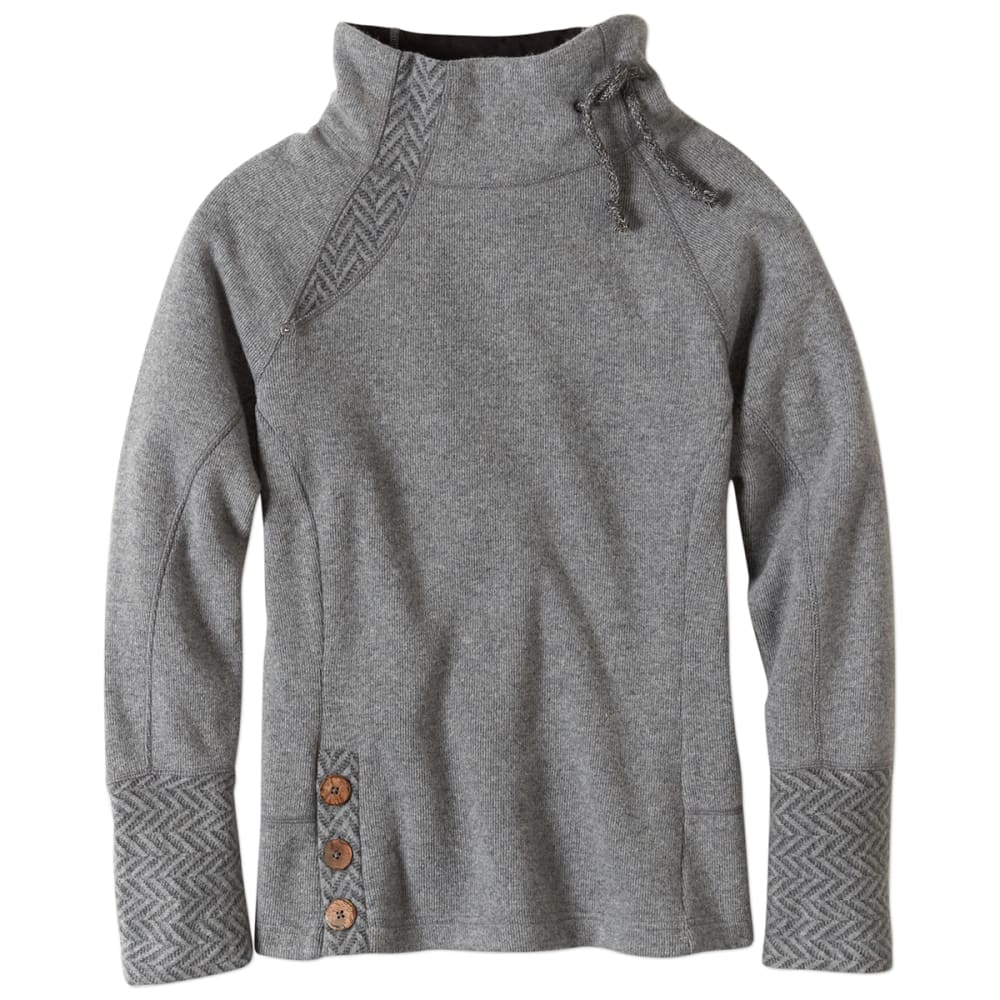 PRANA Women's Lucia Sweater - BLACK