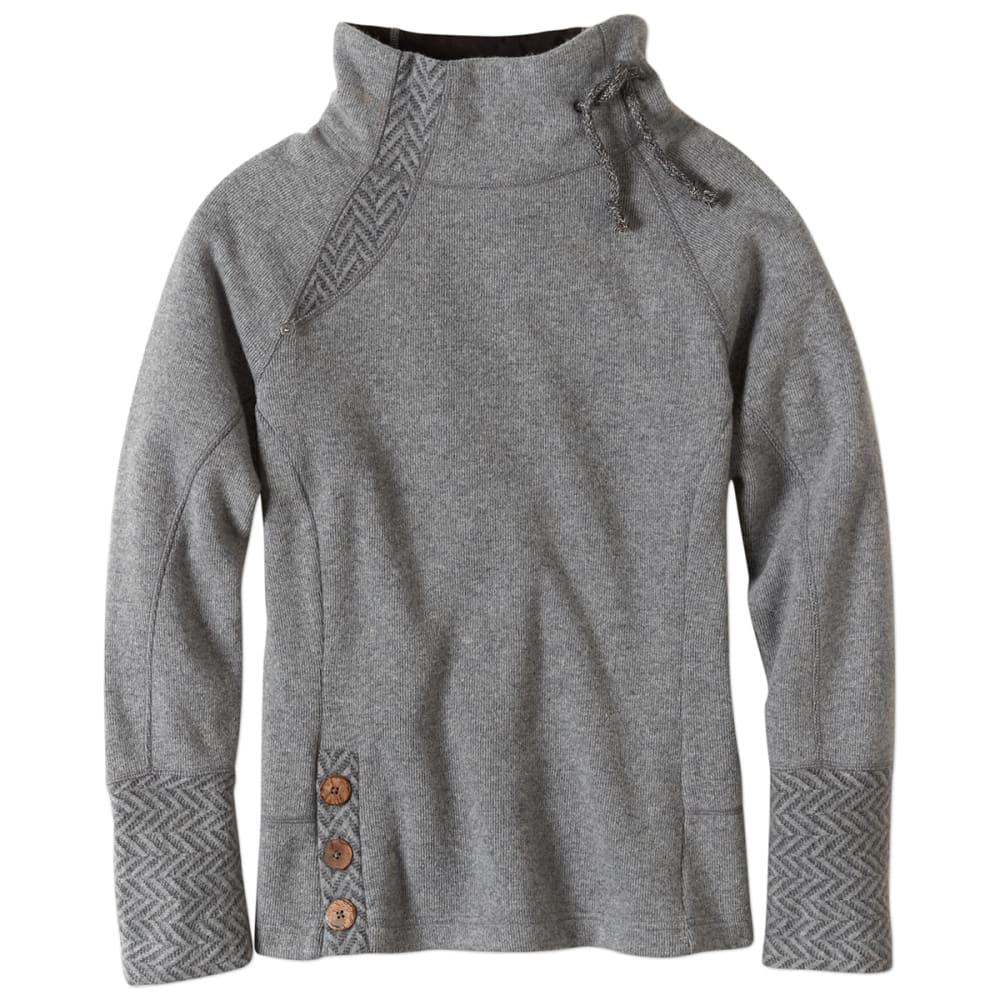 PRANA Women's Lucia Sweater - BLACK