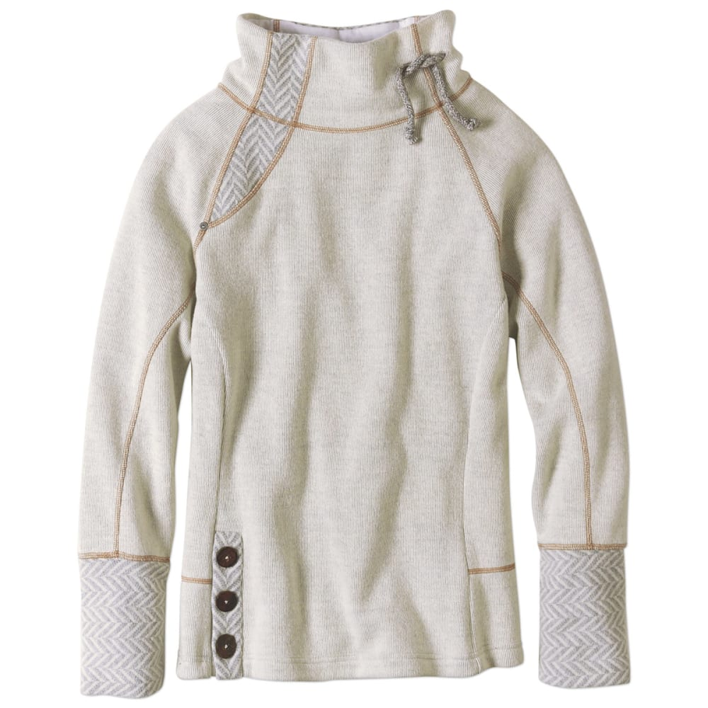 PRANA Women's Lucia Sweater - NATURAL