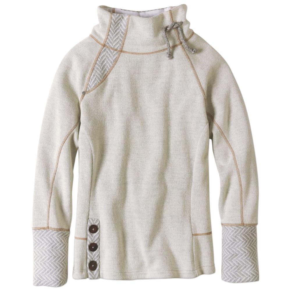 PRANA Women's Lucia Sweater - NATURAL