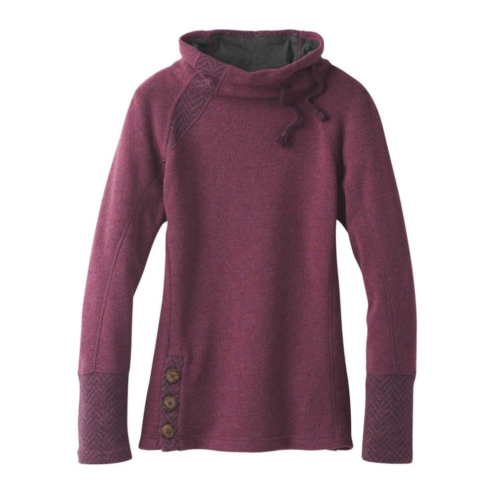 PRANA Women's Lucia Sweater - PERFECT PLUM