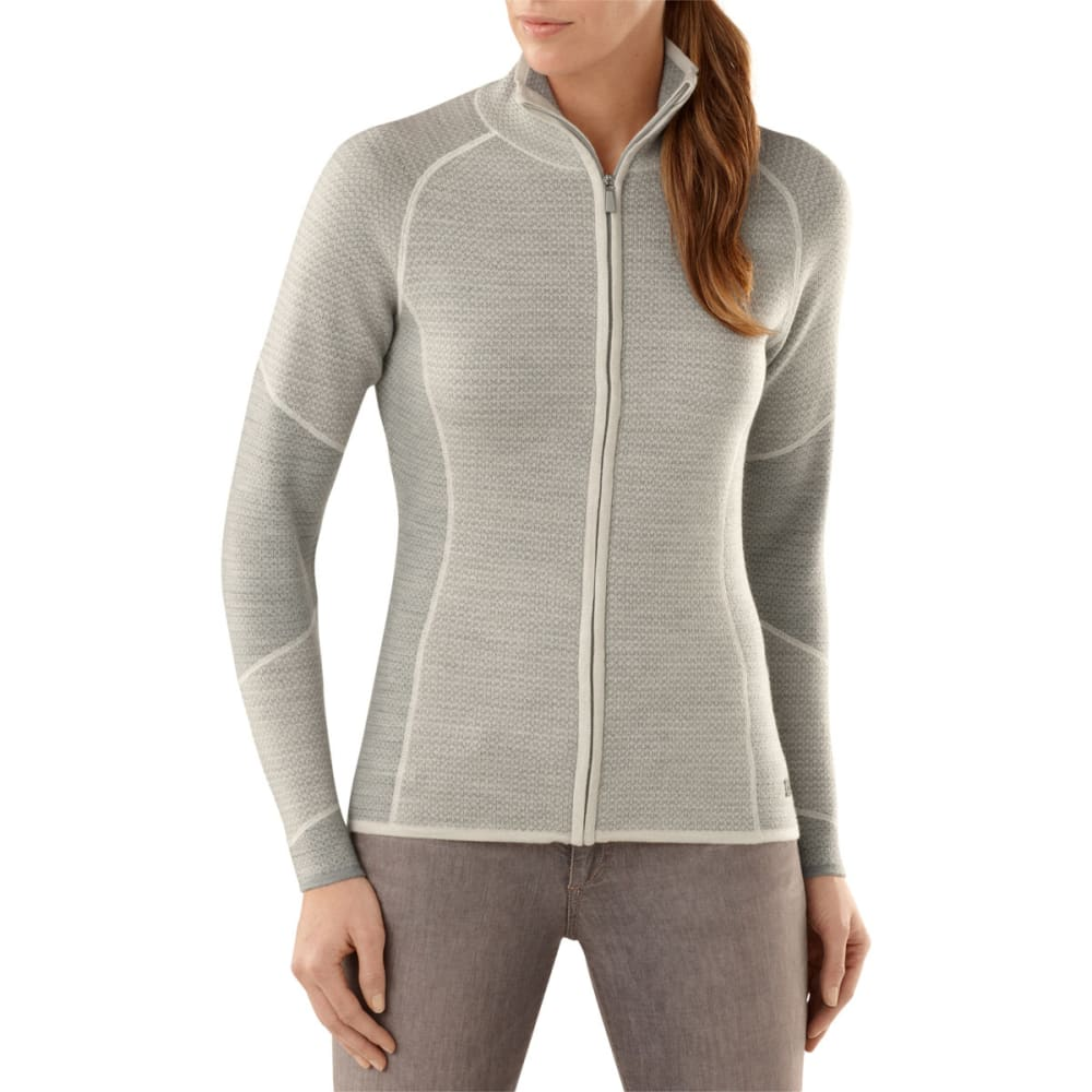 SMARTWOOL Women's Alamosa Double-Knit Full-Zip Sweater
