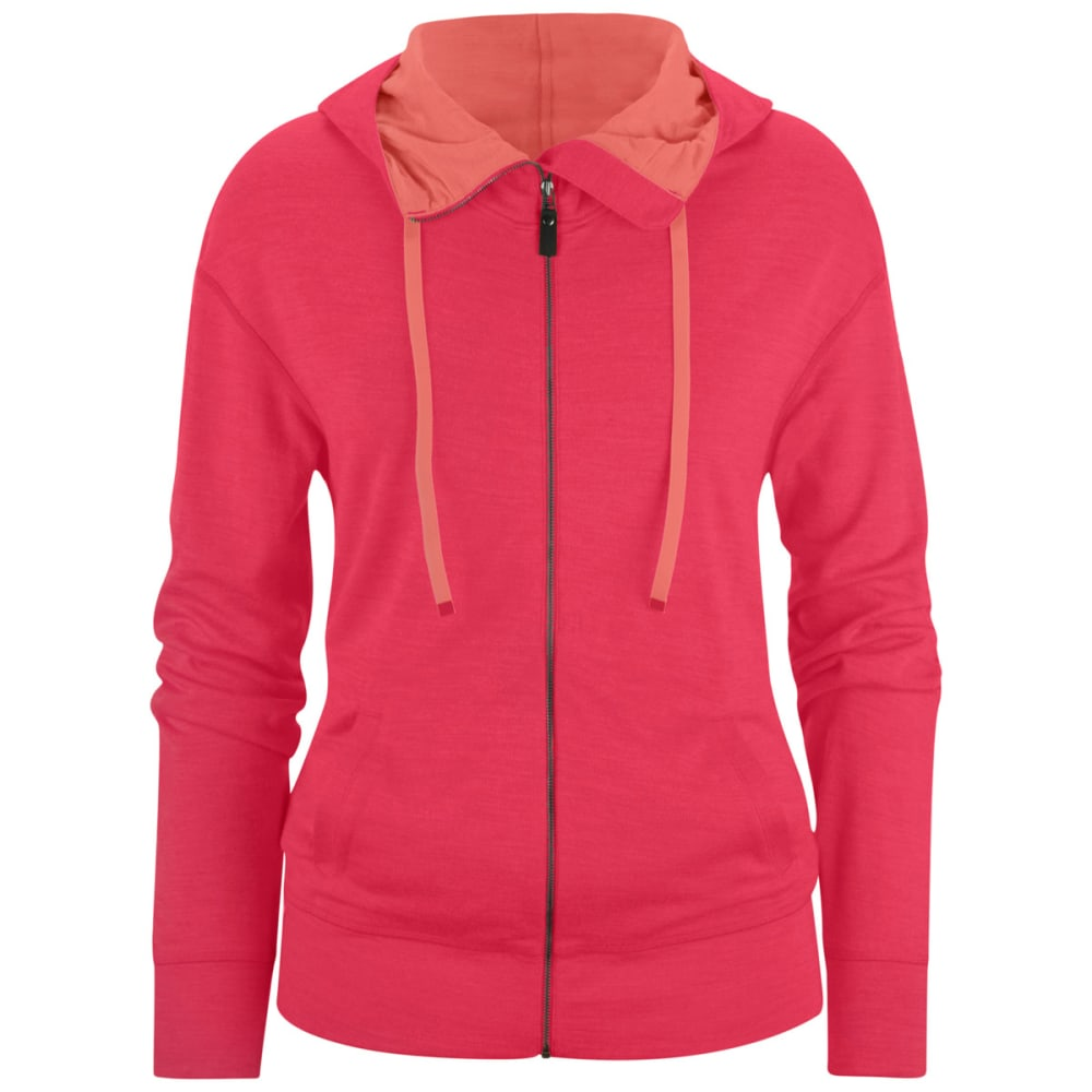 BLACK DIAMOND Women's Castle Valley Hoodie - ROSE RED