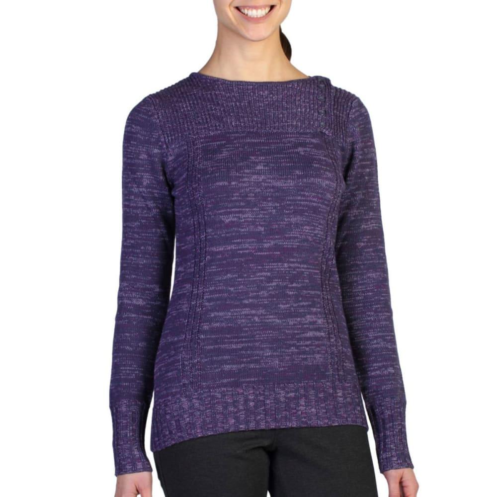 EXOFFICIO Women's Floriana Scoop Sweater  - METEOR
