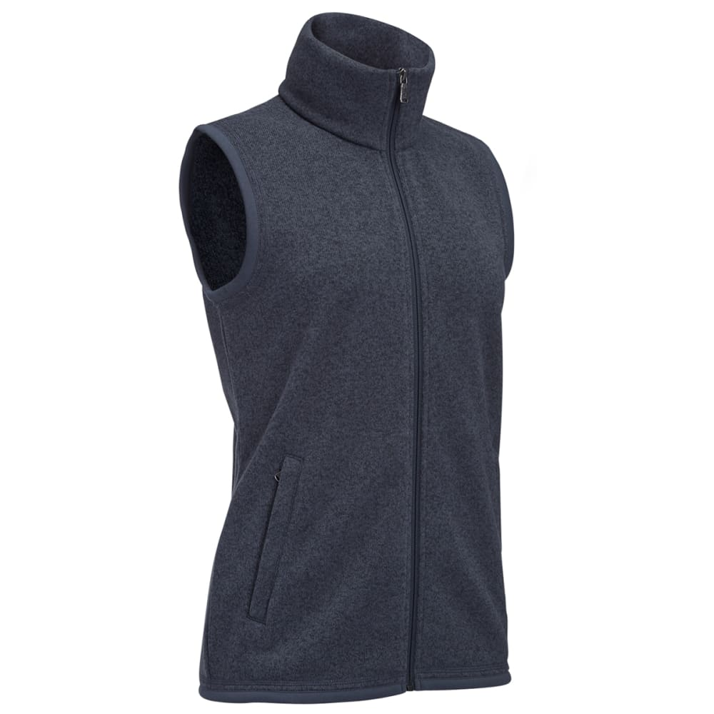 EMS® Women's Roundtrip Fleece Vest - EBONY HEATHER