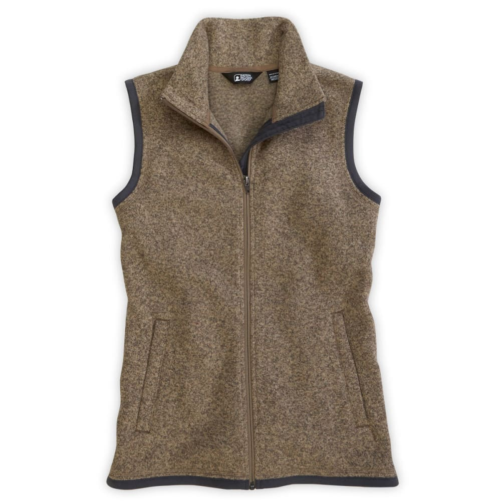 The Columbia Women's Fleece Vest is the ultimate cozy, versatile layering piece built from an earthy heathered fleece featuring an array of pretty colors.