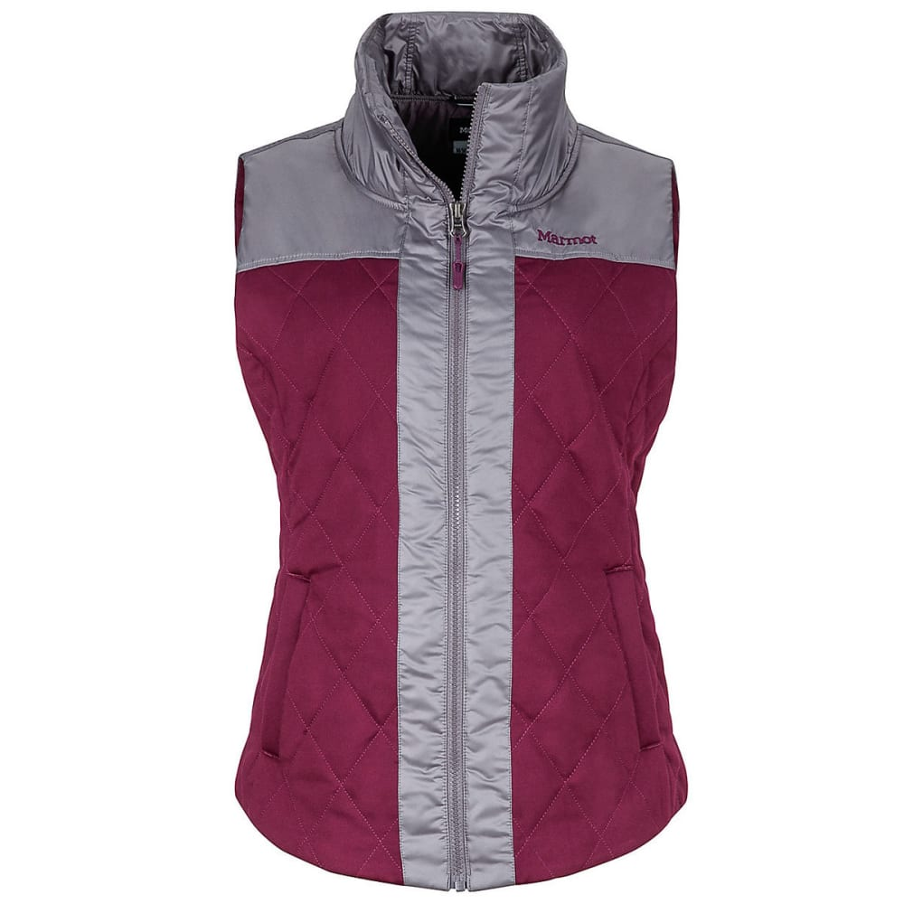 Marmot Womens Abigal Vest - DARK PURPLE/STONE