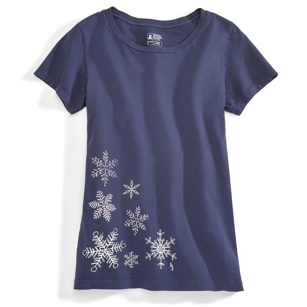EMS® Women's Snowflake Graphic Tee - NAVY BLAZER