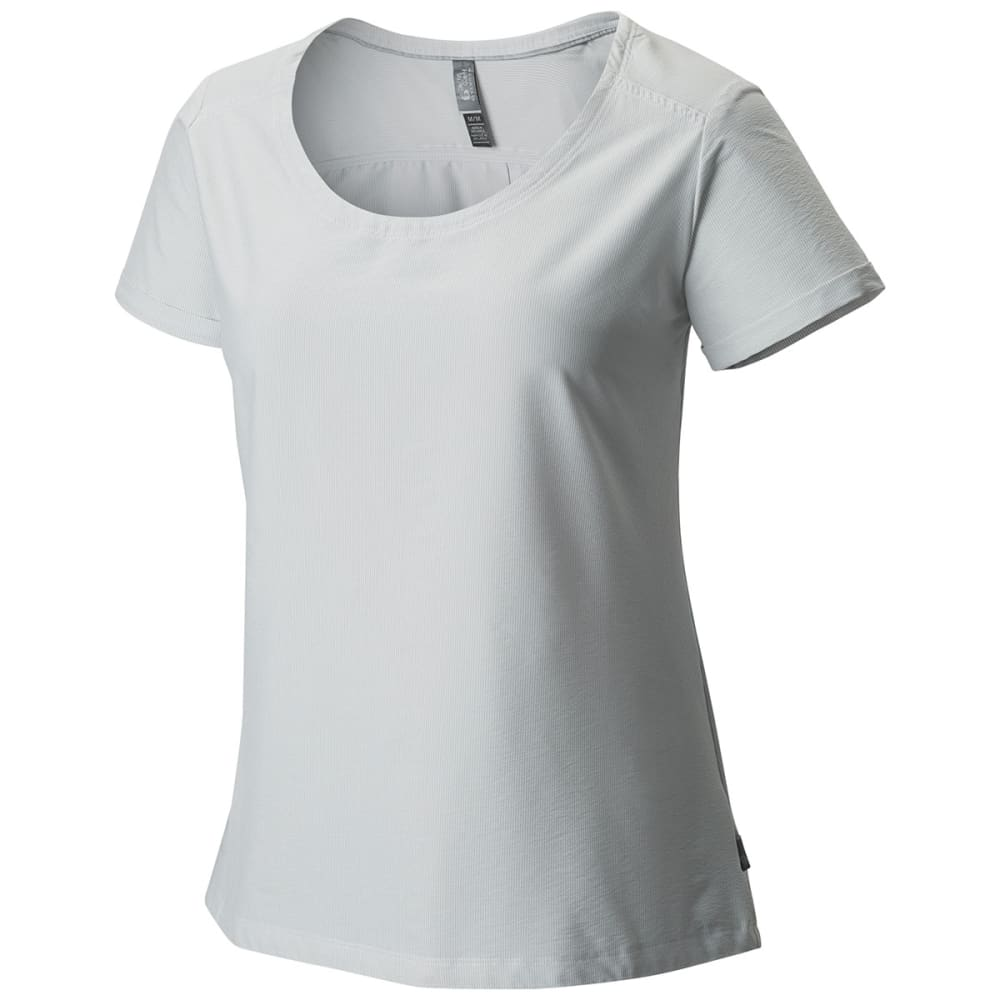 MOUNTAIN HARDWEAR Women's Citypass   S/S Shirt - WHITE