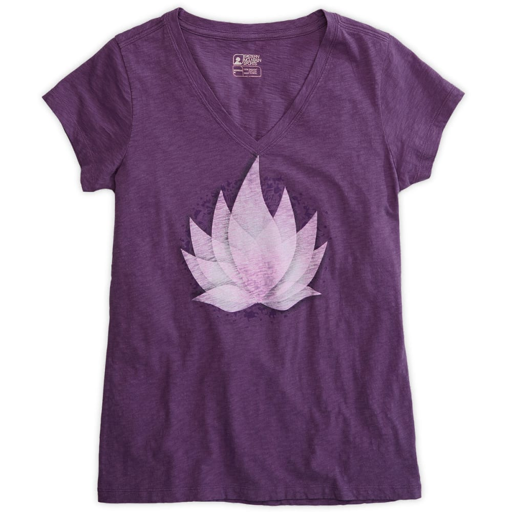 EMS® Women's Lotus Graphic Tee - WINEBERRY