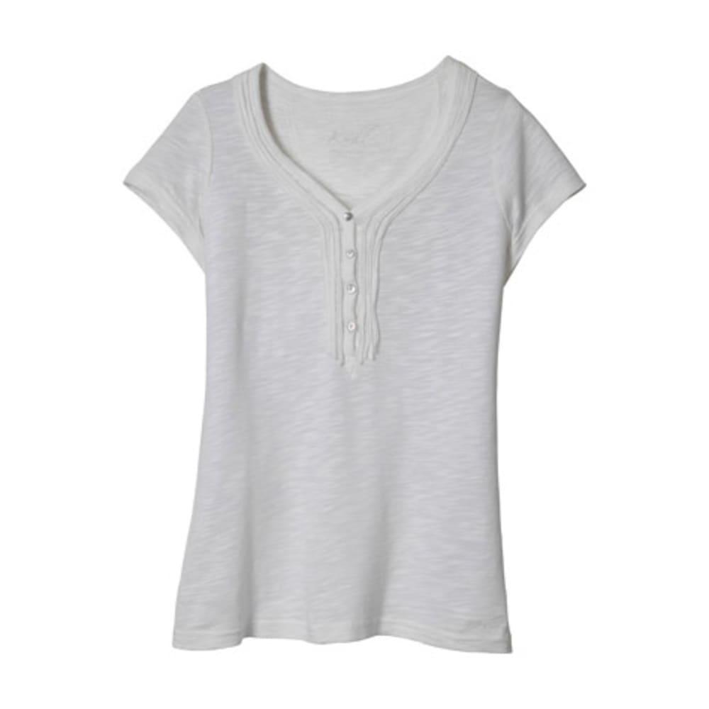 KÜHL Womens Vega Short Sleeve Henley - WHITE
