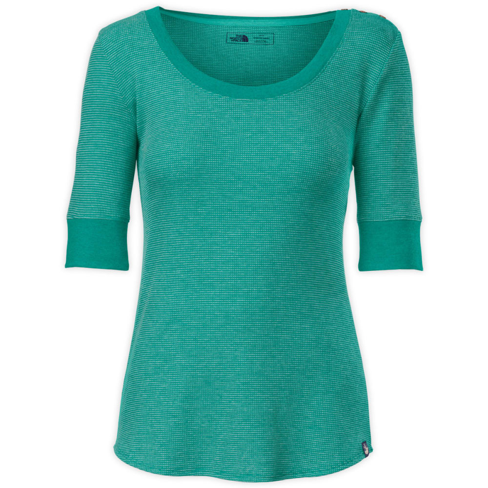 THE NORTH FACE Women's Willow Green Top - FANFARE GREEN