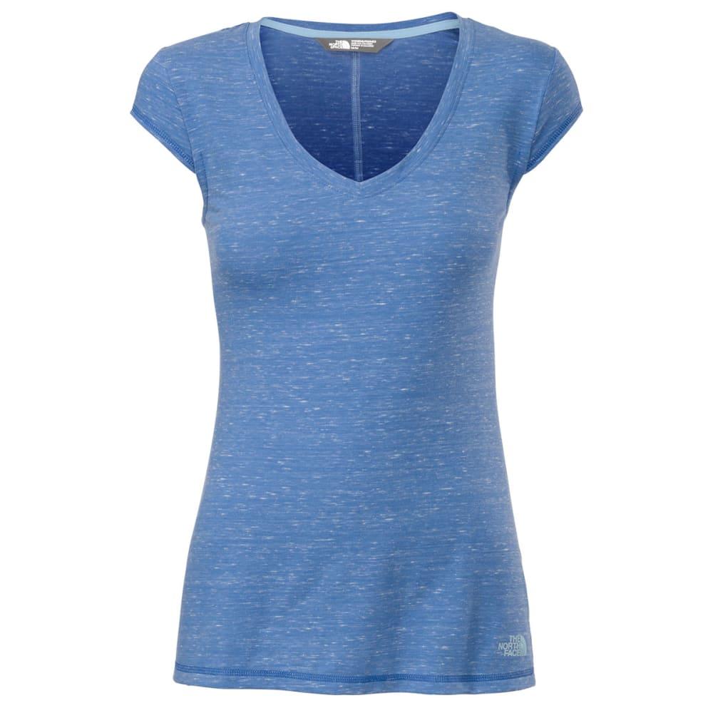 THE NORTH FACE Women's Short Sleeve Easy Tee - COASTLINE BLUE