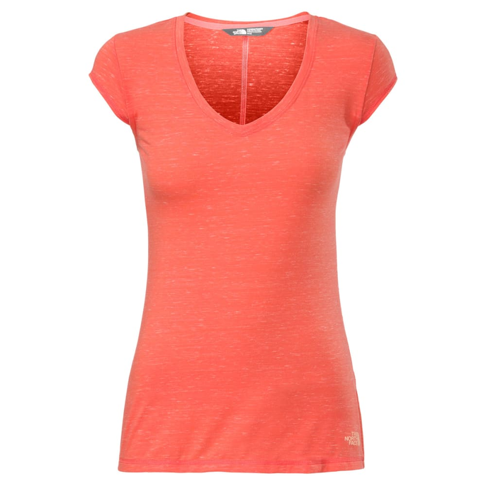 THE NORTH FACE Women's Short-Sleeve  Easy Tee - RADIANT ORANGE