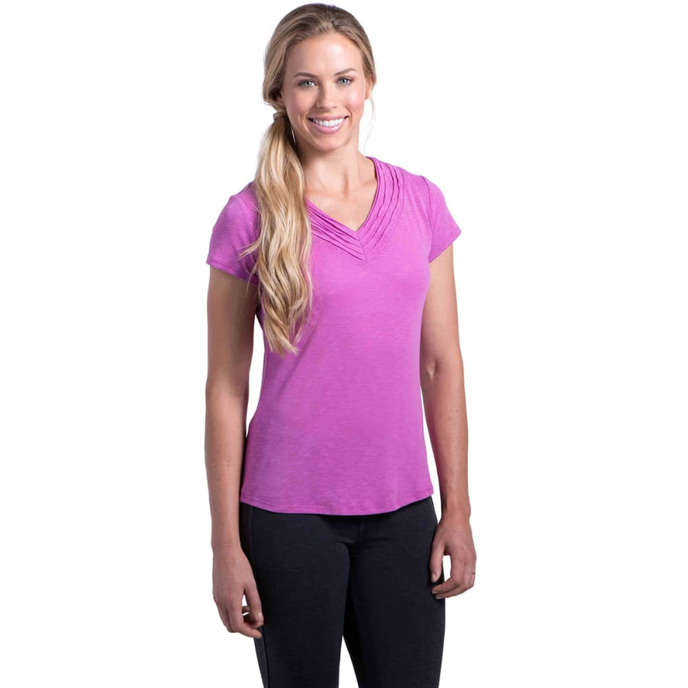 KÜHL Women's Sora S/S Shirt    - WILD ROSE