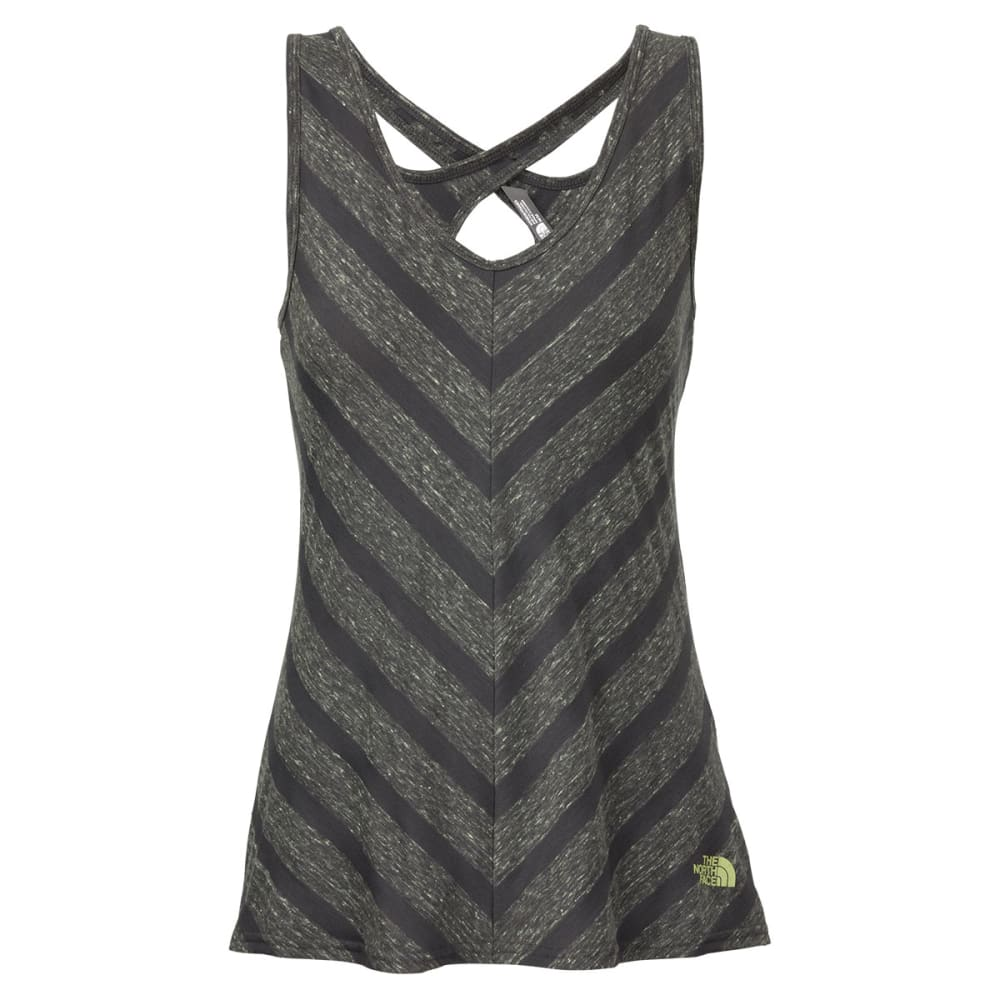 THE NORTH FACE Women's Striped Breezeback Tank - GRAPHITE GREY