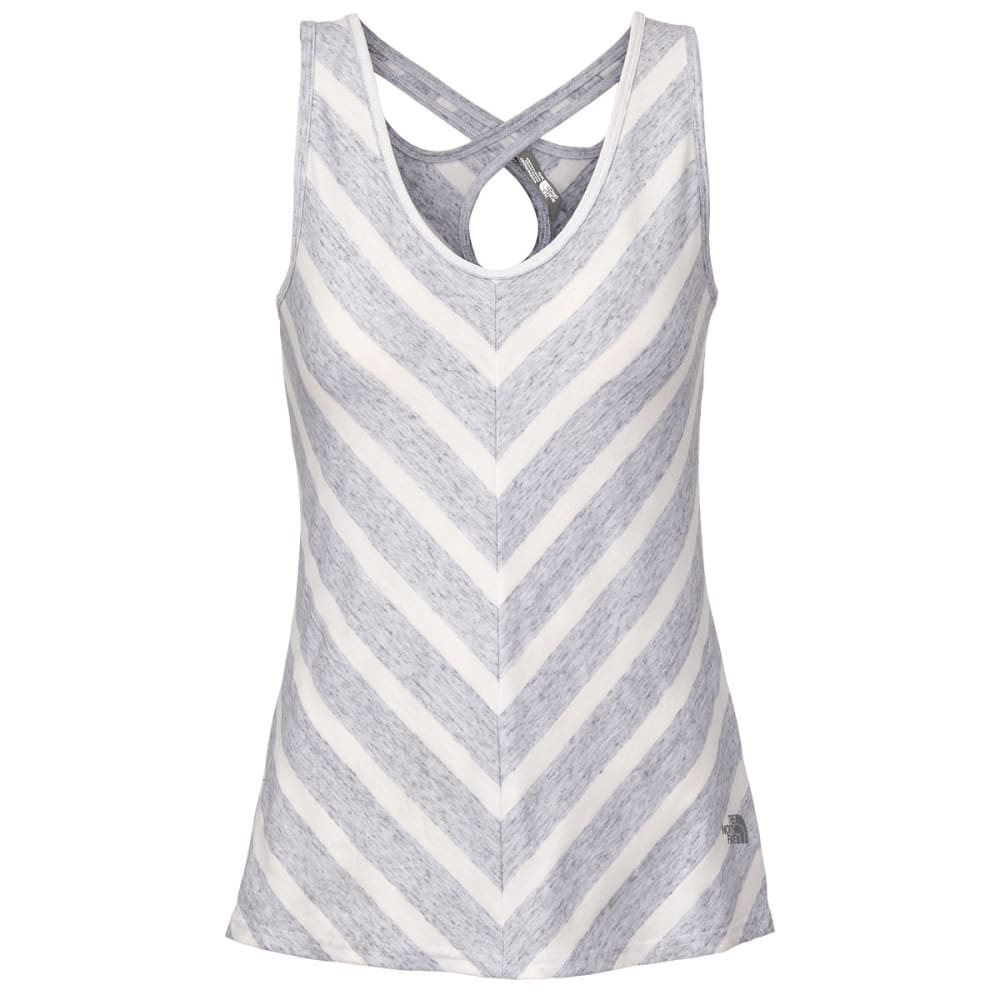 THE NORTH FACE Women's Striped Breezeback Tank - WHITE