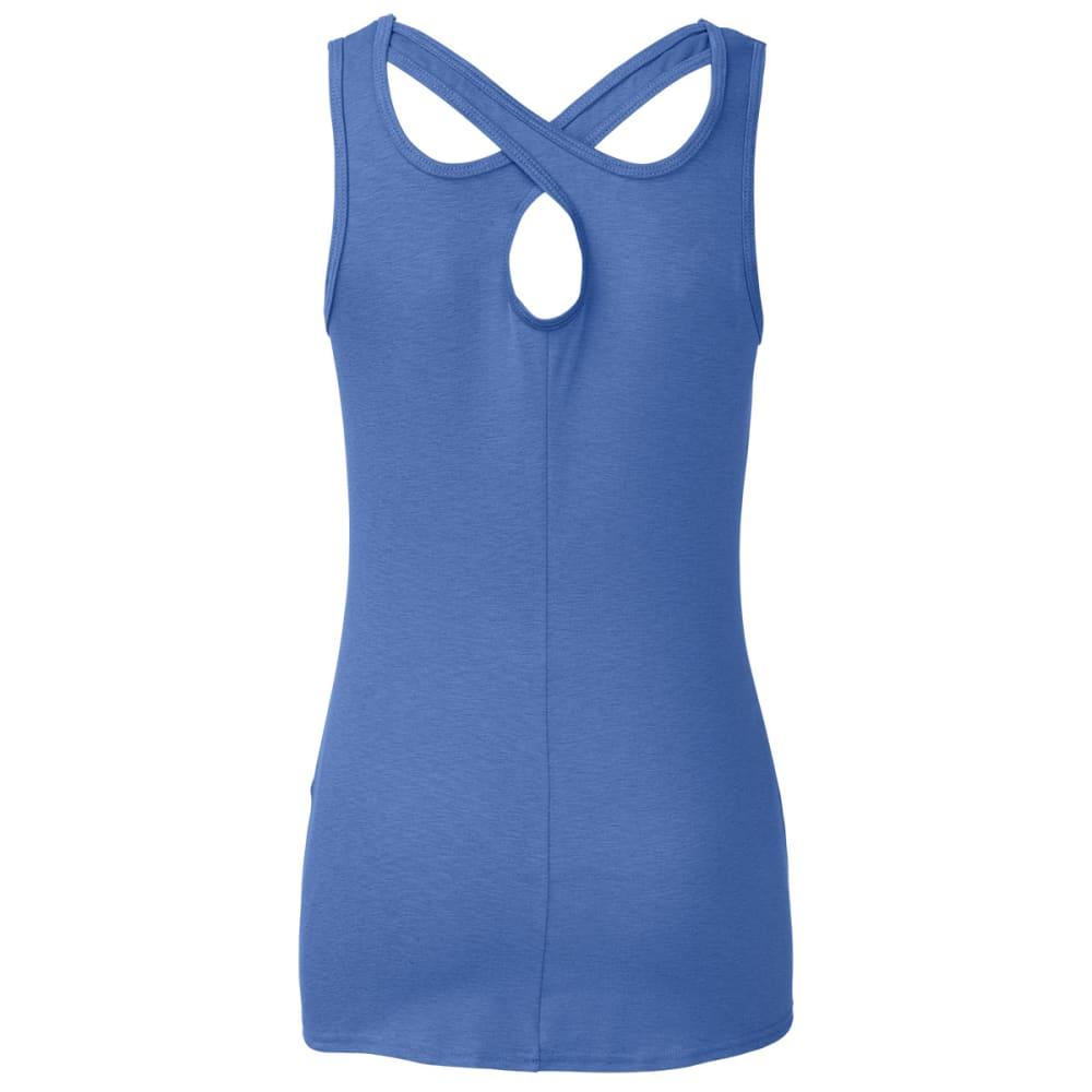 THE NORTH FACE Women's Breezeback Tank Top - COASTLINE BLUE