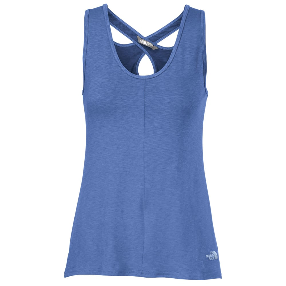 THE NORTH FACE Women's Breezeback Tank Top - COASTLINE BLUE