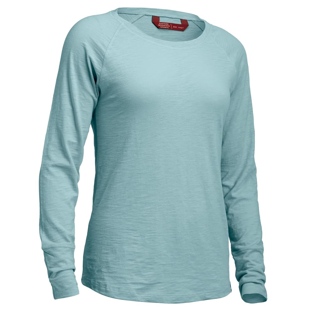 EMS® Women's Long-Sleeve Crewneck   - OIL BLUE