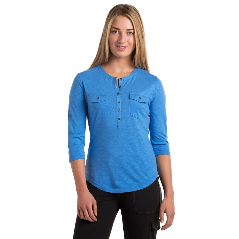 KÜHL Women's Khloe Shirt    - CORNFLOWER