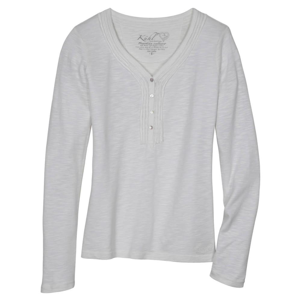 KÜHL Women's Vega Henley Shirt  - WHITE
